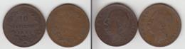 Italie 10 Centisimi 1893 BI  (Birmingham) + R (Rome) - 1878-1900 : Umberto I