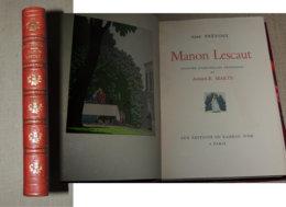 ABBÉ PRÉVOST  Manon Lescaut. Aquarelles Originales D'André-E. Marty - Bien Relié - Libros, Revistas, Cómics