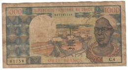 Congo 1000 Francs 1974 - Congo