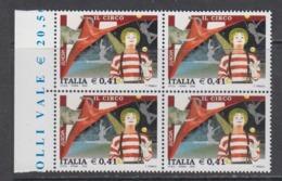 Europa Cept 2002 Italy 1v Bl Of 4 ** Mnh (44962E) - 2002