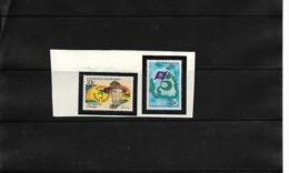 O) 1982 COCOS ISLANDS - KEELING, SCOUTS - SCOUTING YEAR - BADEN POWELL- SC 85 -86, MNH - Cocoseilanden