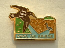 PIN'S BECASSE - PARC DE BRIERE - Dieren