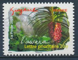 France - Flore Des Régions / Guyane YT A311 Obl. Cachet Rond - Adhésifs (autocollants)