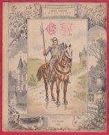 Protége Cahier Ancien Fin XIXéme Collection L' Armée Française à Travers Les Ages  CAVALIER 1500 - Book Covers