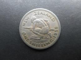 New Zealand 1 Shilling 1956 Elizabeth II - Neuseeland