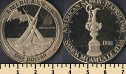 American Samoa 1 Dollar 1988 - Amerikanisch-Samoa
