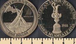 American Samoa 1 Dollar 1988 - Amerikaans-Samoa