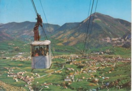 ALBINO - PANORAMA - FUNIVIA ALBINO-SELVINO - ANIMATA - VIAGGIATA - Italia