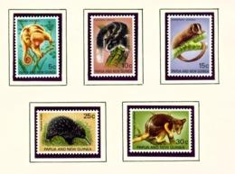 PAPUA NEW GUINEA  -  1971 Marsupials Set Unmounted/Never Hinged Mint - Papua New Guinea