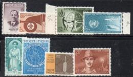 FRZ27 - INDIA , Otto Valori Integri Dell'anno 1967 ***  MNH (2380A) - Nuovi