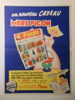 TGP002 / Affichette Ou Affiche FROMAGE FONDU MERE PICON - BD PISTOLIN - Daté Année 1957 - Ressemble Au Buvard - Affiches