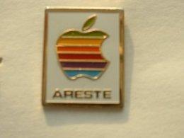 PIN'S APPLE - ARESTE - Informatique