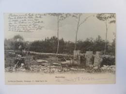 La Forêt En Nivernais - Printemps - Sabotier - Carte Circulée En 1958 - Artisanat