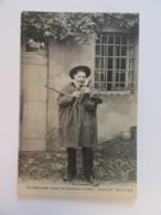 En Limousin - Un Chabretaire - Joueur De Cornemuse Nommée Chabrette Dans Le Pays - Carte Non-circulée - Musique