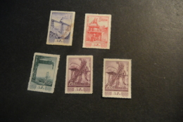 K23217 - Stamps MNH China 1954 - Economic Progress - Stamp $250 Violet - Brown Spot - Nuevos