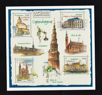 Entier Postal - 2019 - Carte Pré-timbrée à Validité Permante International - Copenhague, Capitale Européenne - Biglietto Postale