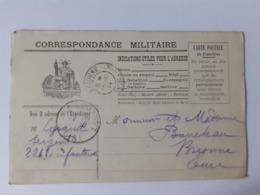 Correspondance Militaire - 14-10-1914 - Marcophilie (Lettres)