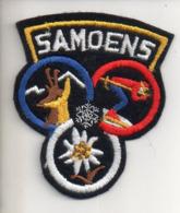 REF EX2 : Ecusson Tissus : SAMOENS - Ecussons Tissu