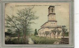 CPA - La CHAPELLE-sous-ROUGEMONT (90) - Aspect De L'Eglise Et De La Rivière St-Nicolas En 1908 - Carte Colorisée - France