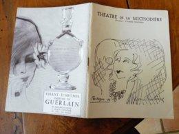 1964 THÉÂTRE De La MICHAUDIÈRE:Pièces Crées Depuis 1925; Photos Des Artistes (Yvonne PRINTEMPS,Jean-Pierre MARIELLE,etc) - Theatre