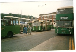 35mm ORIGINAL PHOTO BUS N°18 SOUTHERN CIRCULAR VIA ORWELL CAMBRIDGESHIRE - F320 - Photographs