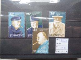 St Vincent  Churchill 368/71 - Sir Winston Churchill
