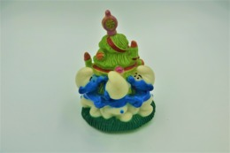 Smurfs IMPS BIP HOLLAND BRUXELLES 1995 RaRe Christmas Tree - *** - Stroumph - Smurf - Schleich - Peyo - Smurfs