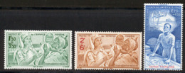 Guyane PA 1942 Yvert 22 / 24 ** TB PEIQI - Neufs