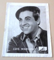 Programme Spectacle 1952 Luis Mariano Gilbert Becaud Autographe Gilbert Becaud Jean  Donda Les Soeurs Bordeau - Autógrafos