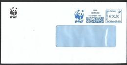 Cover Brief Lettre Belgium WWF Fauna Panda - W.W.F.
