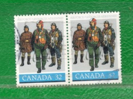 29 Canadá 1984 Yvert 902-Scott 1043  PH Ss Mint TT: Uniformes De Fuerza Aérea - 1952-.... Reign Of Elizabeth II
