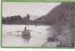 CPA ITALIE - ROCCAPIETRA En 1918 - Barque - Italy