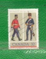 30 Canadá 1983 Yvert 865-Scott 1007 Ss Mint TT: Uniformes De Soldados - 1952-.... Reign Of Elizabeth II