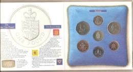 Regno Unito - Brillant Uncirculated Coin Collection Mint Set - 1988 - Mint Sets & Proof Sets