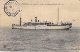 """PAQUEBOT  Liner Cruise - Le Paquebot """" EUROPE """" (Chargeurs Réunis) à PAUILLAC (33) Ship Kreuzfahrtschiff Cruiseschip - Paquebots"""