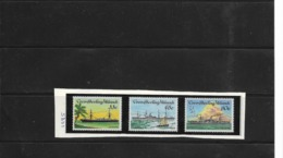 O) 1985 COCOS ISLANDS - KEELING, CABLE LAYING SHIPS - SCOTIA - ANGLIA - PATROL - SC 129 - 131 - Kokosinseln (Keeling Islands)
