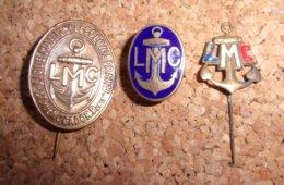 Lot D' Insignes De La Ligue Maritime Et Coloniale - LMC - épinglette - Boutonnière - Badges & Ribbons