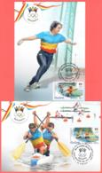 "Moldova 2016 ""XXXI Summer Olympic Games. Rio De Janeiro"" 2 Maximum Cards Quality:100% - Moldova"