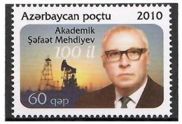 Azerbaijan 2010 .Academic Sh.Mehdiyev(Oil). 1v: 60q Michel # 824 - Azerbaiján