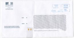 Polynésie Française / Tahiti - 1 Enveloppe / Timbrée En 2017 / Trésor Public De Papeete - Lettres & Documents