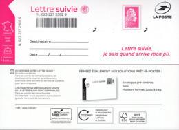 LA LETTRE SUIVIE (LS 6) Type Marianne L'engagée. 1er Tirage. - Frankreich