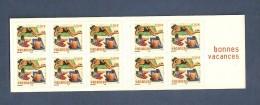 France, Carnet BC3578A, BC 3578A, BC35, BC 35, Carnet Neuf **, Non Plié, TTB, Bonnes Vacances - Carnets