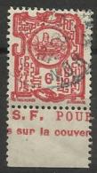 INDOCHINE N° 132a Oblitéré De 1927 Avec Bande Publicitaire Issu De Carnet - Indochina (1889-1945)