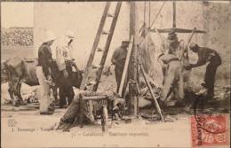 Maroc - Casablanca // Boucherie Improvise 1908 - Casablanca