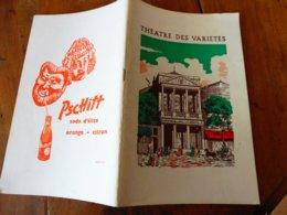 1964 THÉÂTRE Des VARIÉTÉS : C'est Une Belle Histoire (sur 7 Pages De Texte Et Photos), Nombr Photographies D'artistes - Theatre