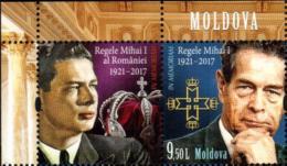 """Moldova 2018 """"Michai I Last King Of Romania """" 1v Zf Qualiti:100% - Moldavia"""
