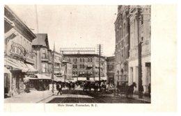 Rhode Island  Pawtucket , Main Street - Pawtucket