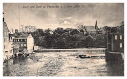 Rhode Island  Pawtucket ,  River And Dam - Pawtucket