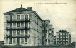 N°77235 -cpa Caen -43è D'artillerie -ensemble Des Bâtiments- - Caen