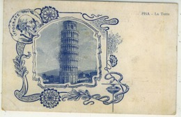 TORRE PISA PUBBLICITÀ G. FATTORI ELIXIR MILANO - Pisa